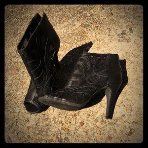 Black ladies booties